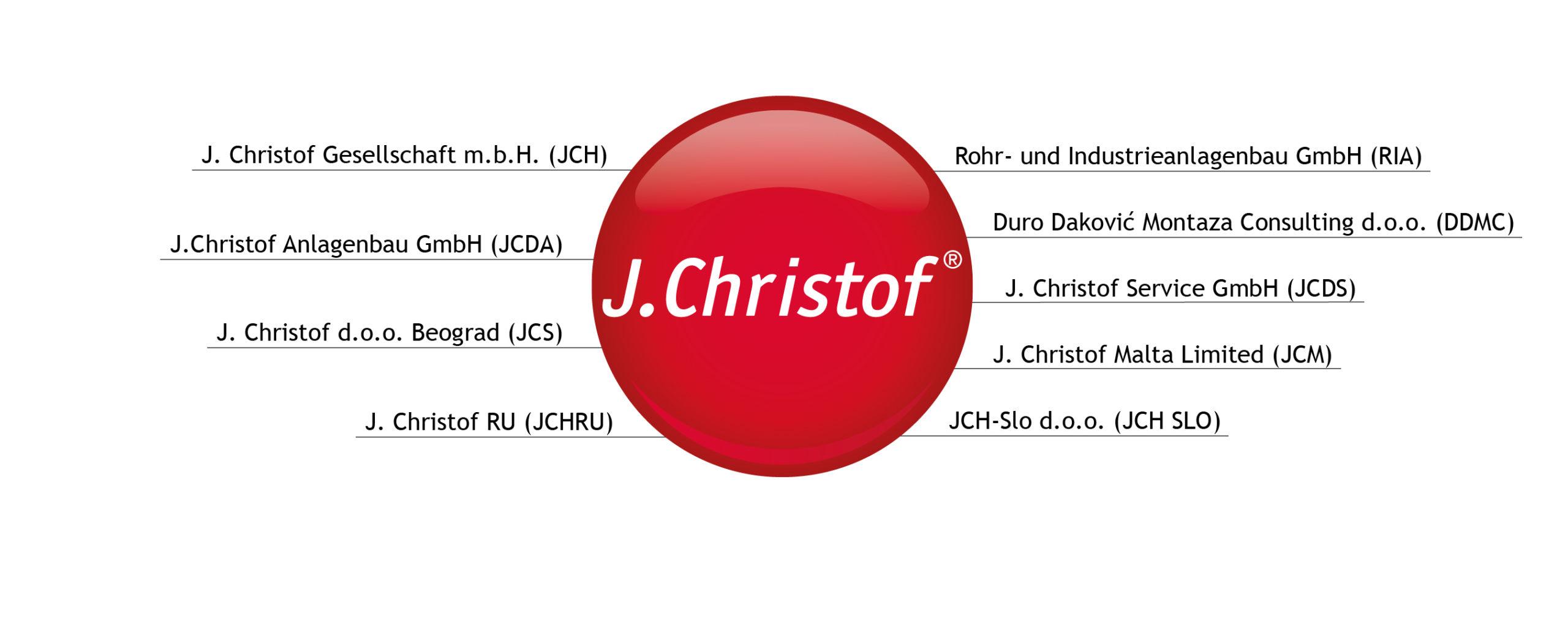 Standorte der J.Christof